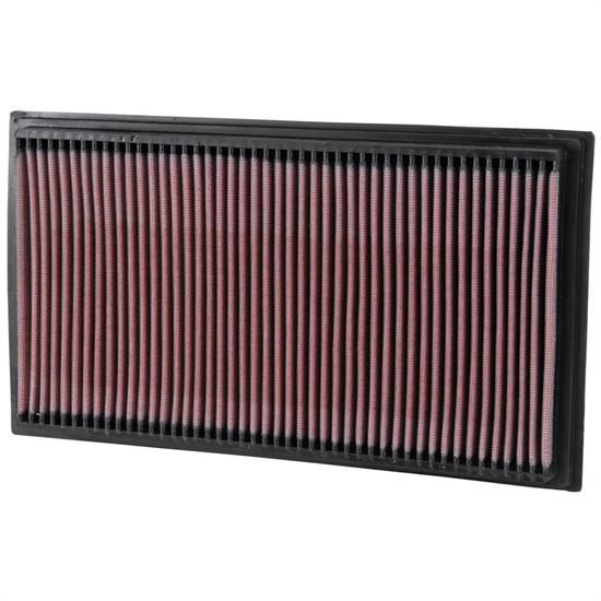 K&N 33-2747 Lifetime Performance Air Filter, Mercedes Benz 2.0L-5.5L