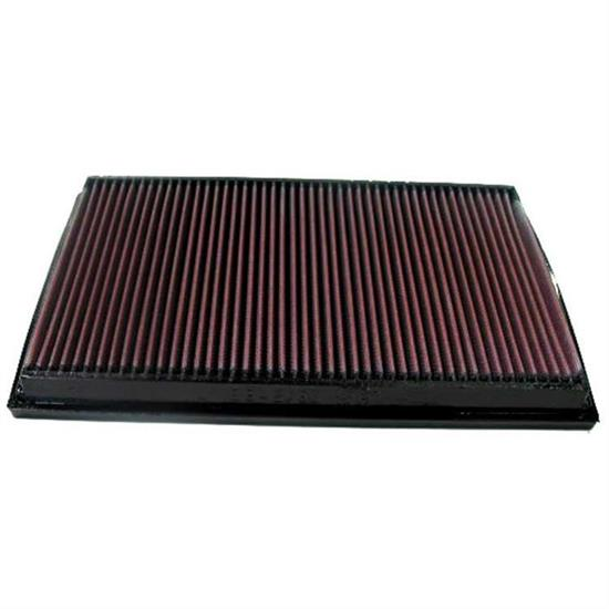K&N 33-2750 Lifetime Performance Air Filter, Opel/Vauxhall 1.6L-2.6L