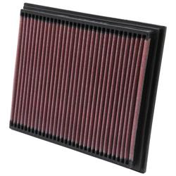 K&N 33-2767 Lifetime Performance Air Filter, Mercedes Benz 2.0L-2.3L