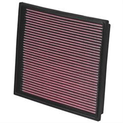 K&N 33-2779 Lifetime Performance Air Filter, Audi 2.5L-4.2L
