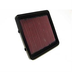 K&N 33-2795 Lifetime Performance Air Filter, Daewoo 1.4L-1.6L