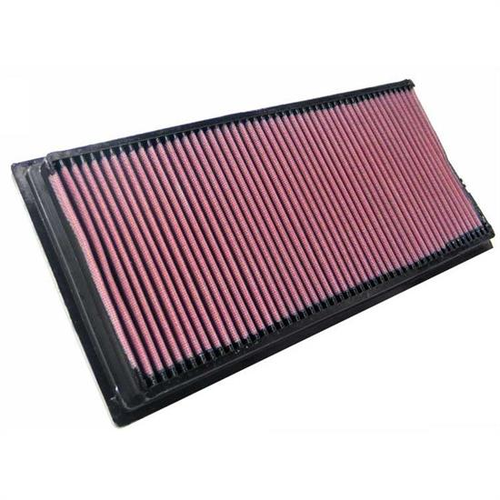 K&N 33-2834 Lifetime Performance Air Filter, Ssangyong 2.7L-3.2L