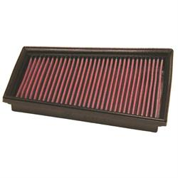 K&N 33-2849 Lifetime Performance Air Filter, Mercedes Benz 1.2L-1.5L