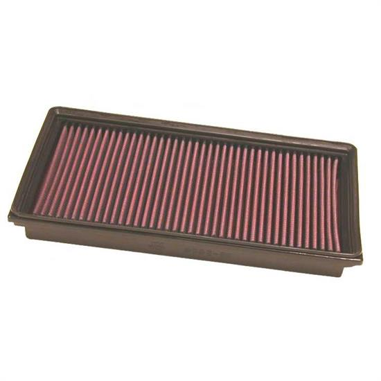 K&N 33-2858 Lifetime Performance Air Filter, Saab 2.2L
