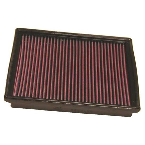 K&N 33-2862 Lifetime Performance Air Filter, Ford 1.3L-1.6L
