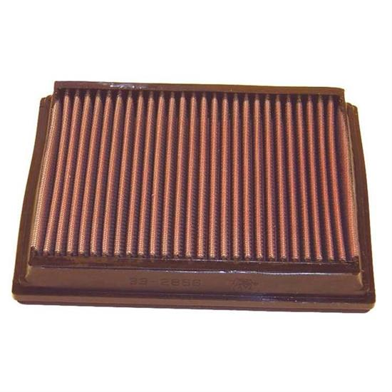 K&N 33-2866 Lifetime Performance Air Filter, Audi 4.2L