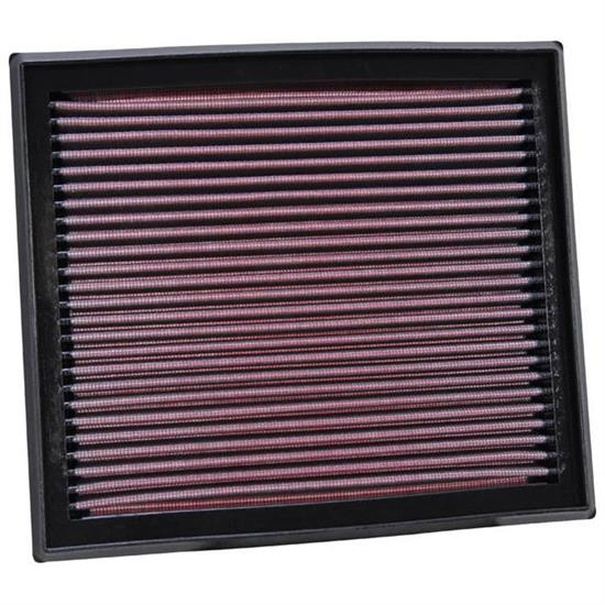 K&N 33-2873 Lifetime Performance Air Filter, Ford 2.5, Volvo 2.4-2.5