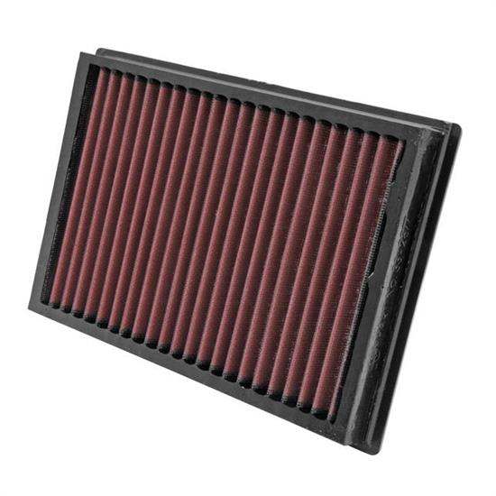 K&N 33-2877 Lifetime Air Filter, Ford 1.4L-2.0L, Volvo 1.6L-2.0L