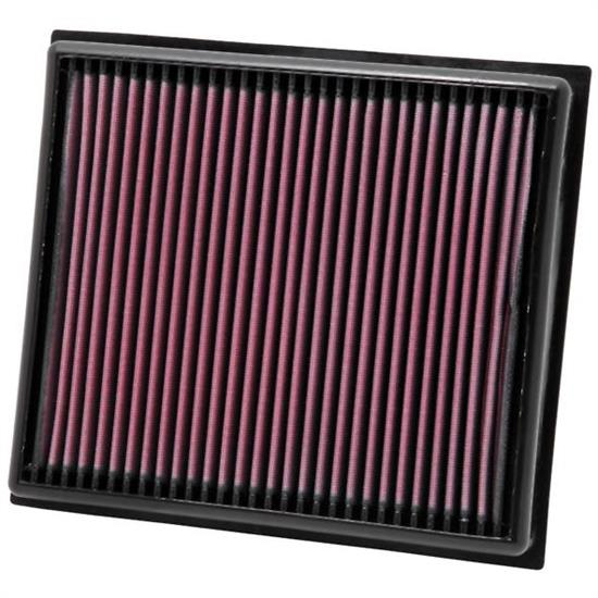 K&N 33-2962 Lifetime Air Filter, Opel 1.4L-2.8L, Saab 1.6L-2.8L