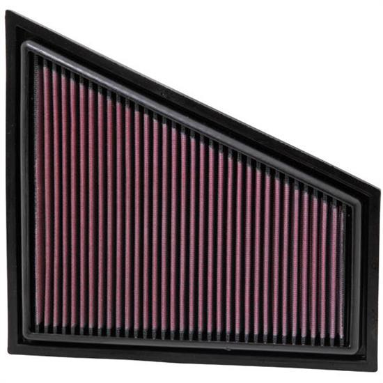 K&N 33-2963 Lifetime Performance Air Filter, BMW 2.0L-3.0L