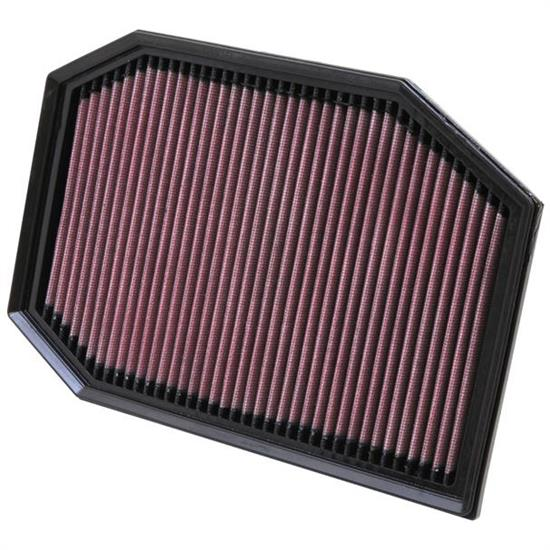 K&N 33-2970 Lifetime Performance Air Filter, BMW 2.0L-3.0L