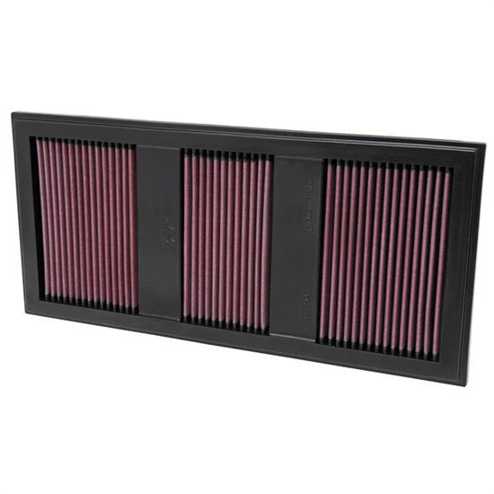 K&N 33-2985 Lifetime Performance Air Filter, Mercedes Benz 3.0L-3.5L