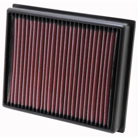 K&N 33-2992 Lifetime Performance Air Filter, Land Rover 2.2L-2.4L