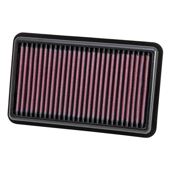 K&N 33-3000 Air Filter, Hyundai 1.0L, Kia 1.0L-1.2L