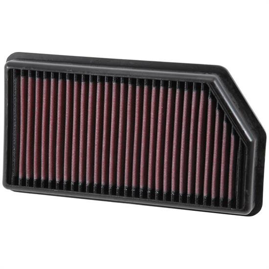 K&N 33-3008 Lifetime Air Filter, Hyundai 1.4L-1.6L, Kia 1.0L-1.6L