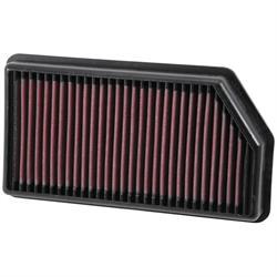 K&N 33-3008 Lifetime Air Filter, Hyundai 1.4L-1.6L, Kia 1.0L-1.6L
