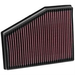 K&N 33-3013 Air Filter, Audi 2.0L, Seat 2.0L