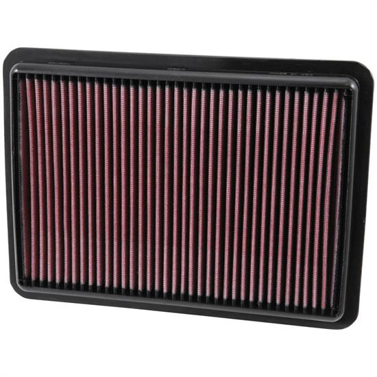 K&N 33-5011 Lifetime Performance Air Filter, Acura 3.5L