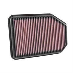 K&N 33-5023 Lifetime Performance Air Filter, Jeep 2.8L