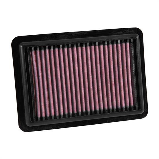 K&N 33-5027 Lifetime Performance Air Filter, Honda 1.3L-1.5L
