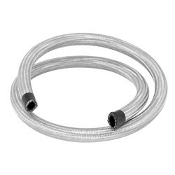 Spectre 39504 Braid Stainless Steel-Flex Oil/Heater Hose,1/2 In x 4 Ft