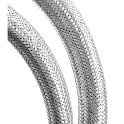Spectre 39704 Braided Stainless Steel-Flex Heater Hose,3/4 Inch x 4 Ft