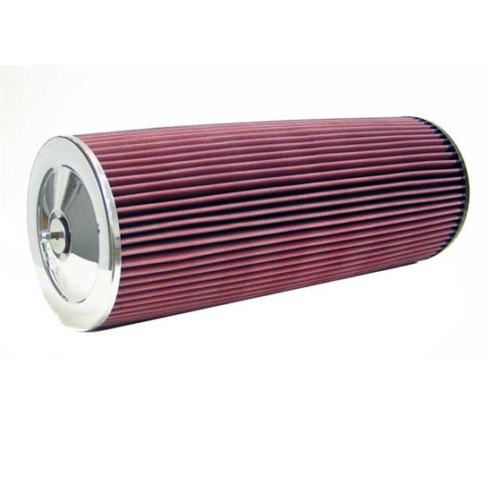 K&N 41-1400 Lifetime Performance Air Filter, 18in Tall, Round