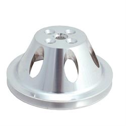 Spectre 4369 Billet Water Pump Pulley, Cheyv 265-350, GMC 283-327