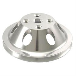 Spectre 4409 Billet Alum. Water Pump Pulley, Chevy 262-400, GMC 305-400