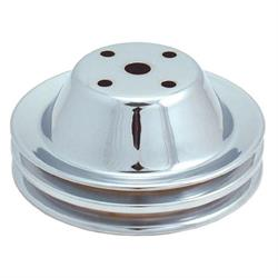 Spectre 4418 Chrome Water Pump PUlley, Chevy 262-400, GMC 305-400