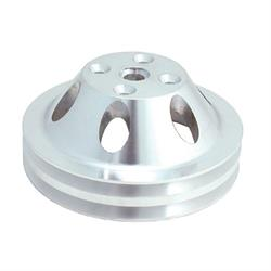 Spectre 4419 Billet Alum. Water Pump Pulley, Chevy 262-400, GMC 305-400
