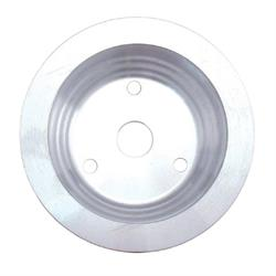 Spectre 4429 Billet Alum. Crankshaft Pulley, Chevy 262-400, GMC 305-400