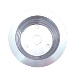 Spectre 4439 Billet Alum. Crankshaft Pulley, Chevy 262-400, GMC 305-400