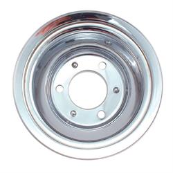 Spectre 4508 Chrome Crankshaft Pulley, Chevy/GMC 396-454