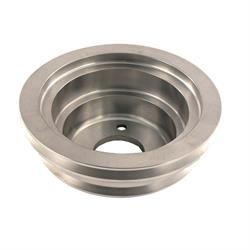 Spectre 4509 Billet Aluminum Crankshaft Pulley, Chevy/GMC 396-454