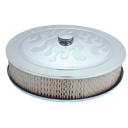 Spectre 4758 Air Filter Assembly, 3in Tall, White, Round