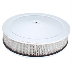 Spectre 4760 Air Filter, 3in Tall, White, Round