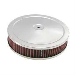 Spectre 47708 Air Filter Assembly, 2in Tall, Red, Round