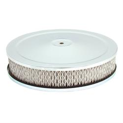 Spectre 4770 Air Filter Assembly, 2in Tall, White, Round