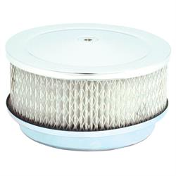 Spectre 4780 Air Filter Assembly, 2.5in Tall, White, Round