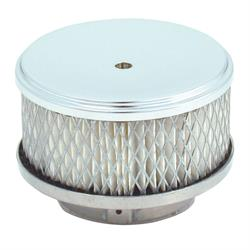 Spectre 4790 Air Filter Assembly, 2in Tall, White, Round