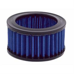 Spectre 48096 Air Filter, Blue, 2.125in Tall, Round