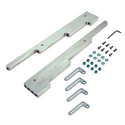 Spectre 4901 Spark Plug Wire Loom/Separator Kit, Pol Billet Aluminum