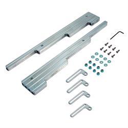 Spectre 4902 Spark Plug Wire Loom/Separator Kit, Milled Billet Alum