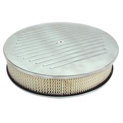 Spectre 4914 Air Filter Assembly, 3in Tall, White, Round
