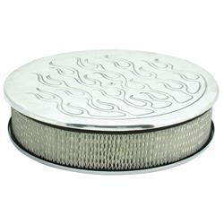Spectre 4915 Air Filter Assembly, 3in Tall, White, Round