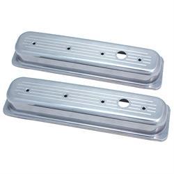 Spectre 4995 Aluminum Valve Covers, Chevy/GMC 5.0L-5.7L, Pontiac 5.0L