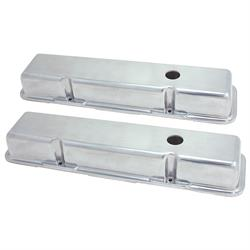 Spectre 4996 Cast Aluminum Valve Covers, Chevy 283-400, GMC 283-400
