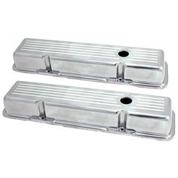Spectre 4997 Aluminum Valve Covers, Chevy 283-400, GMC 283-400