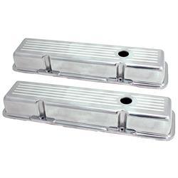 Spectre 4997 Aluminum Valve Covers, Chevy 283-400, GMC 283-400